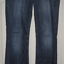 Citizens of Humanity Coh Kelly Low Waist Bootcut Denim Blue Jeans 28 X31 Photo