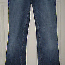 Citizens of Humanity Coh Kelly Low Waist Bootcut Stretch Denim Blue Jeans 27 X32 Photo