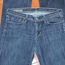 Citizens of Humanity Electric Guitar Bootcut Grommet Stretch Denim Jean 30   Photo