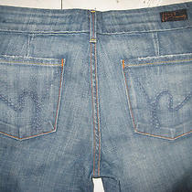 Citizens of Humanity Faye 003 Womens Stretch Low Waist Full Leg Jeans 25 New Photo
