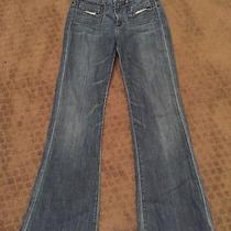 Citizens of Humanity Hutton High Rise Wide Leg 24 Retro Anthro Jeans Pants Photo