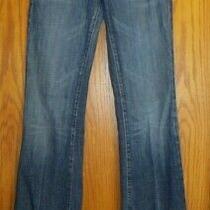 Citizens of Humanity Kelly 001 Women's Sz 28 Stretch Low Waist Blue Jeans 30x34 Photo
