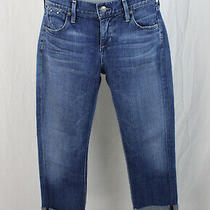 Citizens of Humanity Medium Wash Dani Cropped Straight Leg Jeans Size 26 Photo