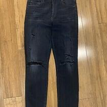 Citizens of Humanity Rocket High Rise Skinny Jean in Graphite Wash Size 28 238 Photo