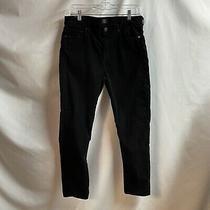 Citizens of Humanity Size 30 Harlow Ankle 5 Pocket Jeans Black Pants  Photo