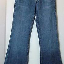 Citizens of Humanity Women's Jeans Faye 003 Low Waist Full Leg Sz 26 Actual 28 Photo