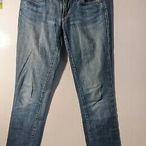 Citizens of Humanity Womens Size 26x32 Blue Denim Jeans Low Waist Straight Leg  Photo