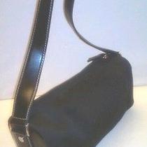 City Dkny  Black Microfiber Shoulder Bag/purse  Photo