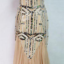 City Triangles Blush Cream Prom Formal Gown 9 - 150 Nwt Photo