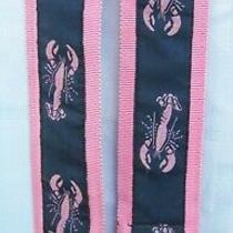 Ck Bradley Tally-Ho Lobster Ribbon O-Ring Belt Camilla Bradley Women's Small Photo