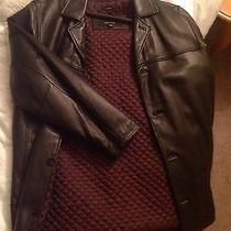 Clairborn Lambs Skin Leather Jacket Photo