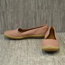 Clarks Danelly Alanza Loafer Flats Women's Size 9w Blush Photo