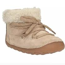 Clarks First Shoes Little Moon Blush Boots Size 2.5 Nib Photo