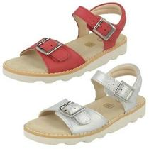 Clarks Girls Casual Strapped Sandals Crown Bloom Photo