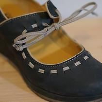 Clarks Original Womens Vogue Blush Black Wedge Heel Us Size 7.5 Photo