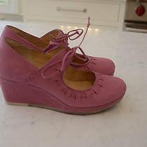 Clarks Originals Pink Vogue Blush Wedge Pump Size 10 Us Euc Photo