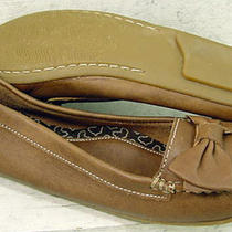 Clarks Soul of Africa Womens Heather Brown Leather Casual Flats Shoes Size 6.5 M Photo