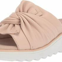 Clarks Women's Jillian Leap Wedge Sandal Blush Leather Size 9.0 2bt4 Photo