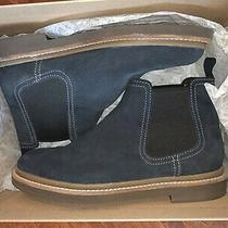Clarks X Gap Chelsea Boots Navy Suede Sz 9 With Box Only Worn Once or Twice Photo