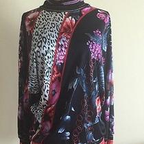 Class Roberto Cavalli Woman Top Blouse Sweater Size 43 Us 8 Photo