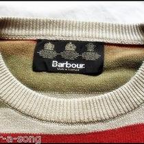 Classic Barbour Hooped Crew Neck Sweater   Orvisstripedstripesjumperlxl Photo