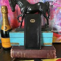 Classic Black Stylish Gucci Glasses Sunglasses Case Handbag Accessory Fashion Gg Photo