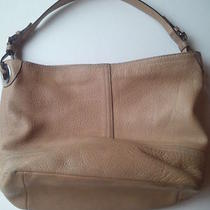 Classic Coach Hobo Glove Tan Soft Pebbled Leather Tote Shoulder Bag no.m05s-5715 Photo