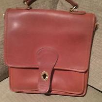 Classic Coach Tan Crossbody Shoulder Bag Handbag Purse Photo