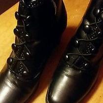 Classic Element Black Boots Size 8m (Agnes) Photo