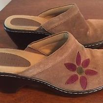 Classic Element Brown Suede Mule Size 7 Photo