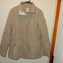 Classic Element Tan Coat Jacket Size M Great Condition Photo