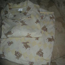 Classic Elements Beige Teddy Bear Pajamas - Size Xl (18) - Pricereduced Photo