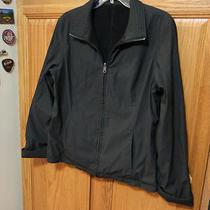 Classic Elements Black Reversible Womens Jacket  Large Photo