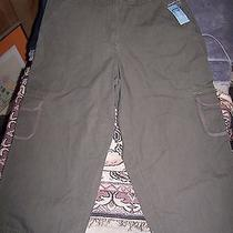 Classic Elements Modern Waist Cargo Pants Nwt Size 12 Bamboo Photo