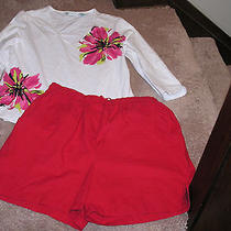 Classic Elements Shorts  & Laura Ashley   Top Size Large Photo