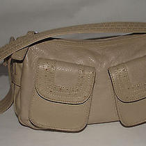 Classic Elements Small Beige Shoulder Bag Photo