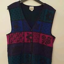 Classic Elements Sweater Vest Small Grannie's Attic Photo