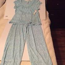 Classic Elements Two Piece Dressy Pajamas Size Large  Photo