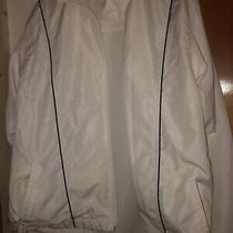 Classic Elements White Zip Jacket Ladies Size Xl Photo