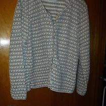 Classic Elements Women's Sweater Size Xl Subtle Pattern Light Colors Photo