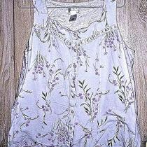 Classic Elements Women's Sz M Summer Pajamas With Shorts  Photo