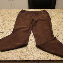 Classic Elements Womens Brown Pants Size 10 Guc Mb Photo
