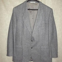 Classic Gray Blend Yves Saint Laurent 2 Button Jacket Sport Coat 42r - 43r Photo
