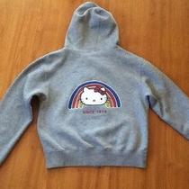 Classic Hello Kitty Hoody Zip Up Gray Size Youth L Photo