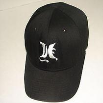 Classic Hurley Co Black Ball Cap White Logo Butterfly Script  Hat Lid Old School Photo