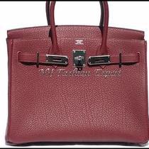 Classic Rouge Hermes 30cm Hermes Birkin Bag Photo