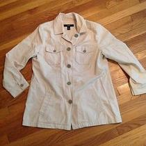 Classic Style Gap Womens Khaki Three Season Jacket Barn Coat Xl Photo