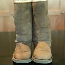 Classic Ugg Tall Boots 5229 Tan Size 4 Kids Girls Youth Photo