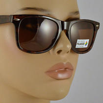 Classic Wayfarer Polarized Max Uv Protection Microfiber Sunglasses Bag 241t Photo