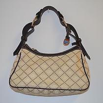 Classy Creamy Dooney and Bourke Hobo Handbag Photo